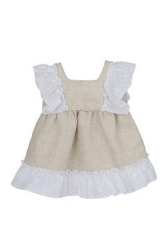Babykleid mit Rüschen Nr.KM21/3-6/003