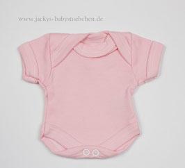 Baby Frühchen Body rosa uni Gr.38 Nr.111
