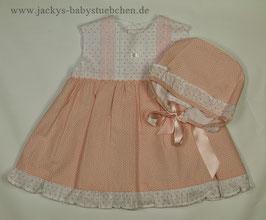 2 teil. Kleid in rosa oder blau Gr. 62 size 3 months Nr.K62003