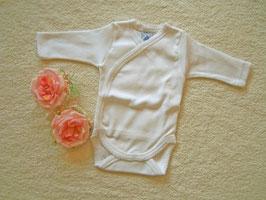 Babybody in weiß Gr.50-56 Nr.UW011