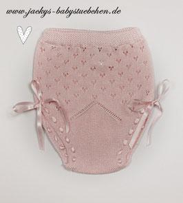 Feinstrickhöschen in rosa und creme Gr.50-56 Nr.H008