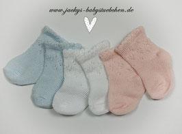 Babysöckchen in 4 Farben Nr.SK012