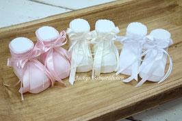 Babysöckchen mit Satinschleife Nr.SK038