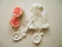 Strumpfhose in weiß & creme  Nr.ST005
