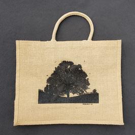 Jute-Tasche Baum