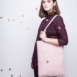 Shopper Kork Rosa