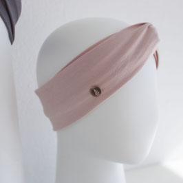 Haarband mit Knoten Rosa