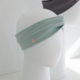 Haarband mit Knoten Mint
