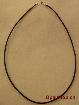 Lederhalsband braun L 43cm / Art.Nr LB43