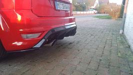 Heckdiffusor Ford Focus ST MK2 Facelift Hochglanz Schwarz