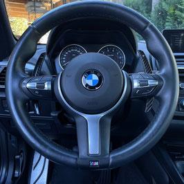 Schaltwippen BMW 5er - F10 - F11 - Carbon Schwarz - Variante 2