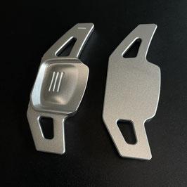 Schaltwippen Golf 8 DSG, GTI, GTD, GTE - Silber - Variante 1