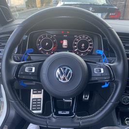 Schaltwippen VW Arteon DSG, R - Alu Blau - Variante 2