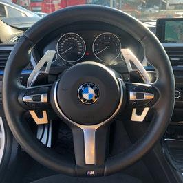 Schaltwippen BMW 5er - F10 - F11 - Alu Silber - Variante 2