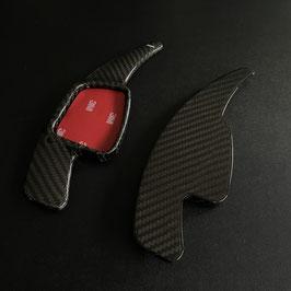 Schaltwippen Audi TT, TTS, TTRS - 8S - Carbon Schwarz - Variante 2