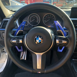 Schaltwippen BMW 1er F20 - F21 - Blau - Variante 2