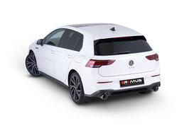 Remus Abgasanlage VW Golf 8 GTI mit OPF Duplex