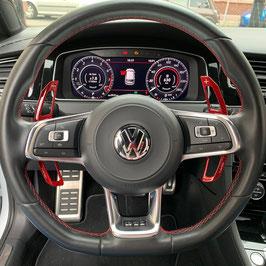 Schaltwippen VW Arteon DSG, R - Carbon Rot - Variante 2