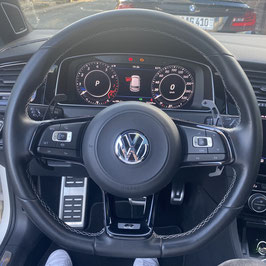 Schaltwippen VW Arteon DSG, R - Alu Schwarz - Variante 2