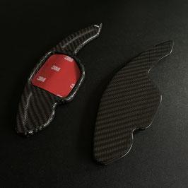Schaltwippen Audi A3, S3, RS3 - 8P, 8PA - Carbon Schwarz - Variante 1