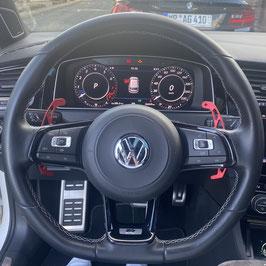Schaltwippen VW Arteon DSG, R - Alu Rot - Variante 2