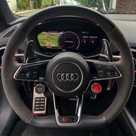 Schaltwippen Audi TT, TTS, TTRS - 8S - Carbon Schwarz - Variante 1