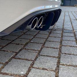 Heckdiffusor V1 Polo AW GTI Schwarz Matt