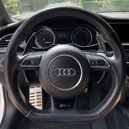 Schaltwippen Audi A5, S5, RS5 - 8T - Carbon Schwarz - Variante 2