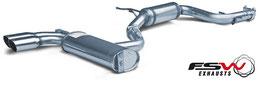FSW Abgasanlage Golf 5 GTI