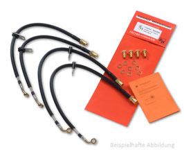 Fischer Stahlflex Leitungen VW Polo 9N3 GTI
