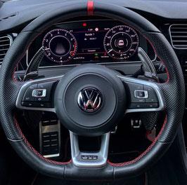 Schaltwippen VW Scirocco DSG, R - Carbon Schwarz - Variante 3