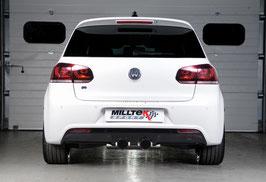 Miltek Rennsportanlage VW Golf 6R / Non-Resonated