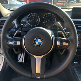 Schaltwippen BMW 4er F32 - F33 - F36 - Schwarz - Variante 2