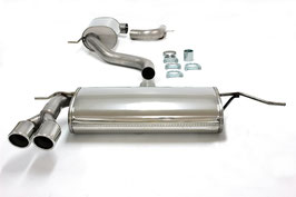 Simons Abgasanlage Audi A3 8P - 1.4l und 2.0l TFSI