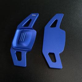 Schaltwippen Golf 7 DSG - Alu Blau - Variante 3