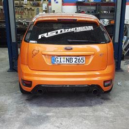 Heckdiffusor Ford Focus ST MK2 Vorfacelift Hochglanz Schwarz