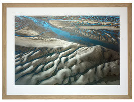 Tableau 150 cm avec cadre en chêne massif