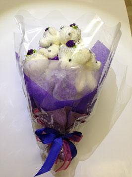 くま束 紫色(purple)
