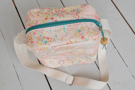 Confection Sac bandoulière besace Liberty Adelajda multicolore