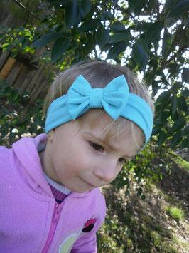 bandeau noeud bébé enfant fille bleu turquoise / taille naissance disponible