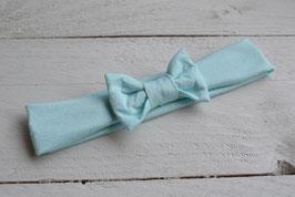 bandeau noeud bébé enfant fille mint / taille naissance disponible