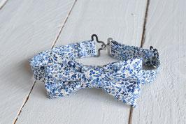 Noeud papillon Liberty bleu Katie and millie pour homme, enfant ou bébé
