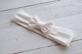 bandeau noeud bébé enfant fille écru / taille naissance disponible