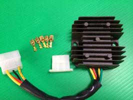 6V/12V 高効率単相全波整流レギュレーター