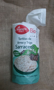 TORTITAS DE ARROZ Y TRIGO SARRACENO