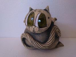 Sacchetto gatto H cm. 13 L cm. 13 P cm. 13 (circa)