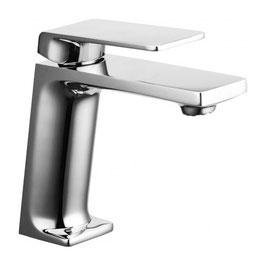 Serie MOVE cromo miscelatore monocomando lavabo con scarico clik-clak art. 9710