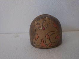 Portasalviette H cm. 8,5, diametro cm. 9,5 (circa)