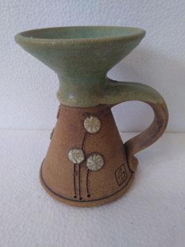 Portacandele H. cm. 11,5 diametro superiore cm. 8 (circa)