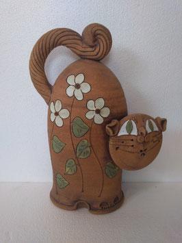 Gatto alto H. cm. 32, L. cm. 23, P. cm. 10 (circa)